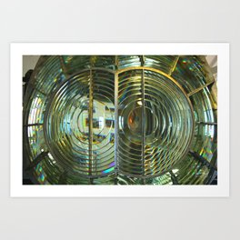 Lens of light Art Print