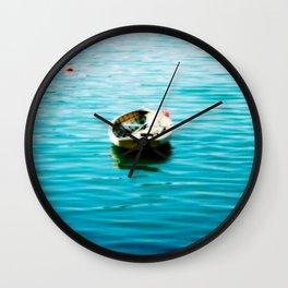 Dory in St. John's, Newfoundland Wall Clock