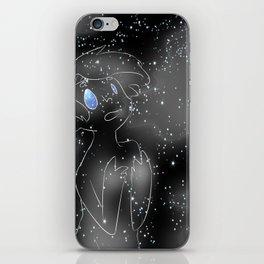 full moon iPhone Skin
