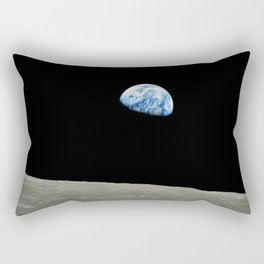 Earthrise High Resolution Rectangular Pillow