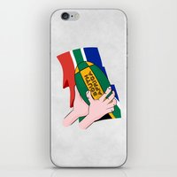 south africa iPhone & iPod Skins featuring South Africa Rugby by mailboxdisco