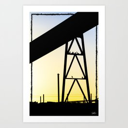 Framing Art Print