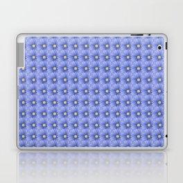 Flowers in Blue Laptop & iPad Skin