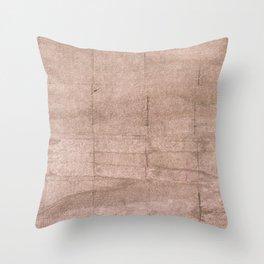 Dark vanilla Throw Pillow