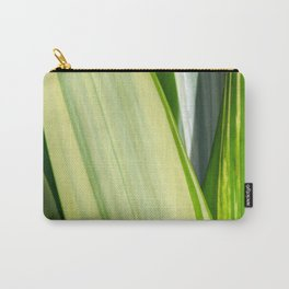 Natural Lines - Light Green Carry-All Pouch