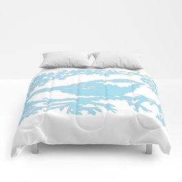 Snowy Chickadee Comforters
