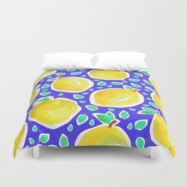 Lemon Crush 3 Duvet Cover