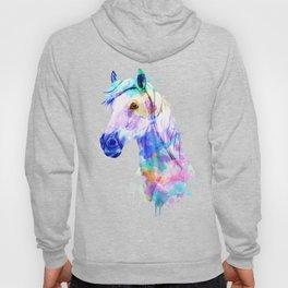 Horse Watercolor, Horse Print, Watercolor Print, Watercolor Animal, Horse Painting, Horse Gift Print Hoody