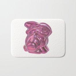 Pink Bunny Bath Mat