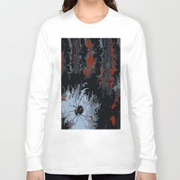 black widow Long Sleeve T-shirts featuring widow by Shea33