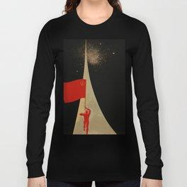 all the way up to the stars - soviet union propaganda Long Sleeve T-shirt