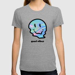 Good Vibes Warped Smiley T-shirt