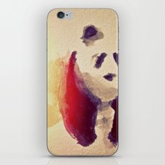 panda squish iPhone Skin