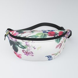 Bouquets with roses Fanny Pack