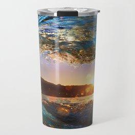Beach - Waves - Ocean - Sun   Travel Mug