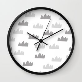 Minmaistic art Wall Clock