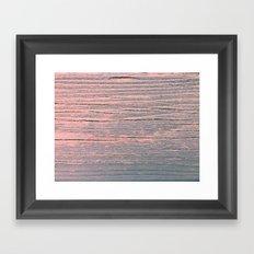 Rustic pastel weathered wood Framed Art Print