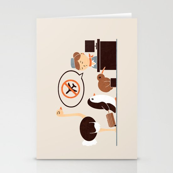 The No-Fly List Stationery Cards
