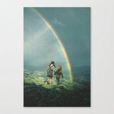 Rainbow of hope Canvas Print