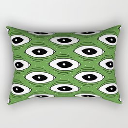 Frog eyes II Rectangular Pillow