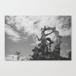 Ciy of Monuments Canvas Print