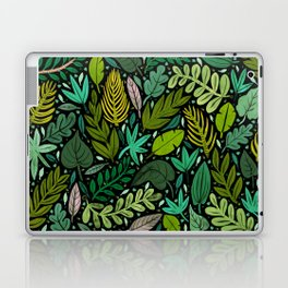Green Scatter Laptop & iPad Skin