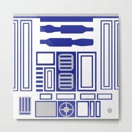 R2-D2 Body Metal Print
