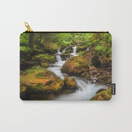 A smooth flow. Carry-All Pouch