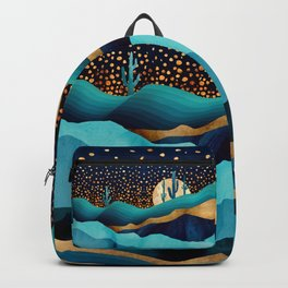Indigo Desert Night Backpack