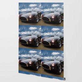 Black Car on the Beach Wallpaper