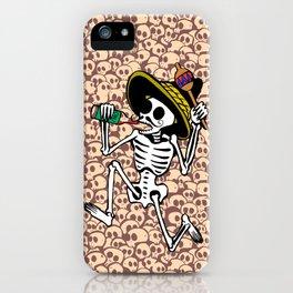 DANCING CALAVERA  iPhone Case