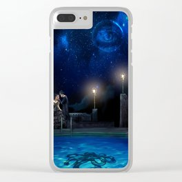 Steampunk Literature: The Great Gatsby Clear iPhone Case