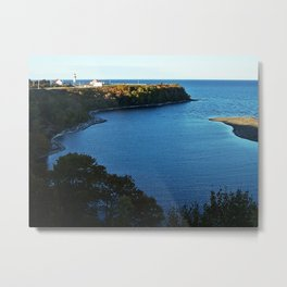 Cap de Madelaine and Lighthouse Metal Print