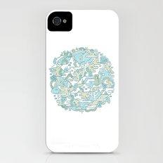 Foggy Woods Slim Case iPhone (4, 4s)