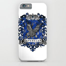 Ravenclaw Color Crest iPhone Case
