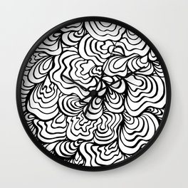 Organic Wave Wall Clock