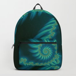 Entering the Vortex - Fractal Art Backpack