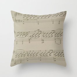 Moonlight Sonata Throw Pillow