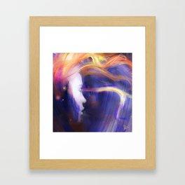 Star Embers Framed Art Print