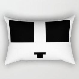 Face number one Rectangular Pillow