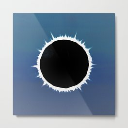 Total Solar Eclipse - Painting Metal Print