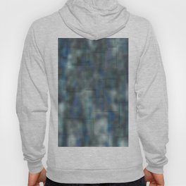 Abstract blue bluring pattern Hoody