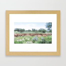 Clovis Site, No. 3 Framed Art Print