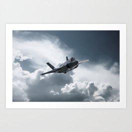 F35 Lightning II Art Print