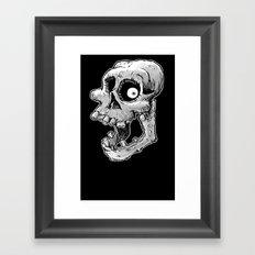 Bone head Framed Art Print