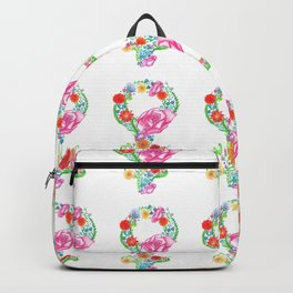 Femininity in Bloom Backpack