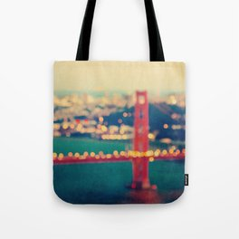 Golden Gate Dreams Tote Bag