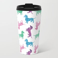 Raining Dachshunds Travel Mug