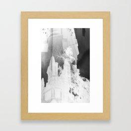 Negative.  Framed Art Print