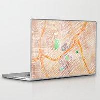 alabama Laptop & iPad Skins featuring Birmingham, Alabama by Emily Day